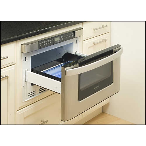 The Sharp Microwave Oven Drawer Fits Seamlessly Into Your Kitchen S Design Read More About Benefits Of Style Pull Out Ovens