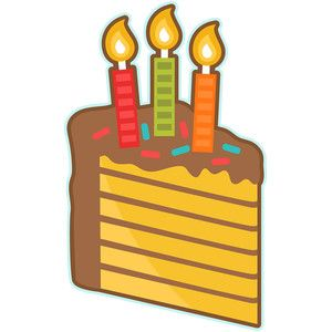 piece of birthday cake birthday cakes silhouettes and silhouette rh pinterest com au piece of cake free clipart piece of cake clip art free