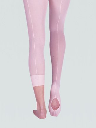 dc81508081c4a Girls TotalSTRETCH Mesh Seamed Convertible Tight | All About Ballet ...