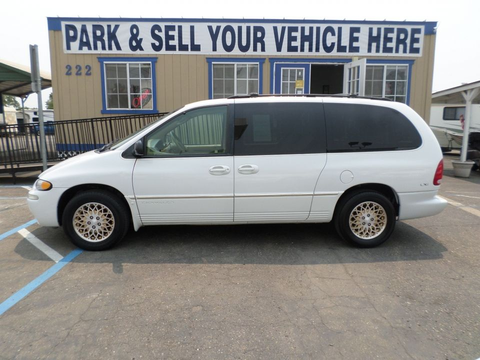 1998 Chrysler Town And Country Lxi Gold Edition Chrysler Town