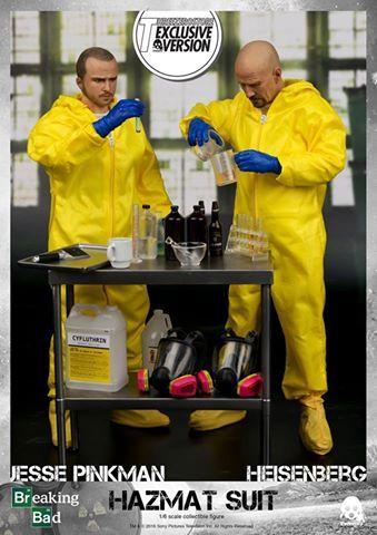 ToyzMag.com » Breaking Bad : un pack de figurines Jesse et Heisenberg