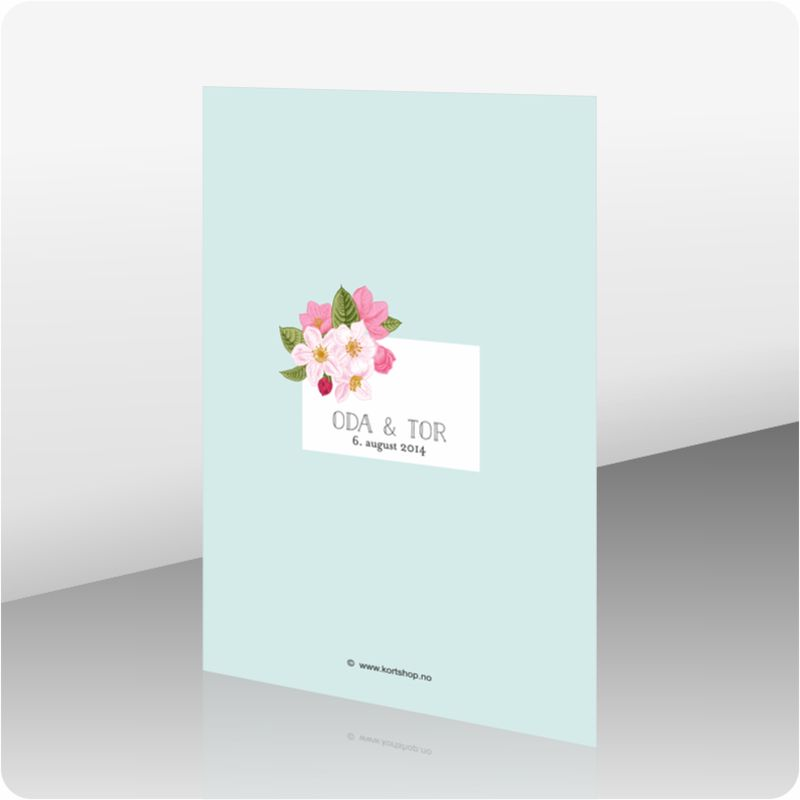 Invitasjon bryllup, 110951
