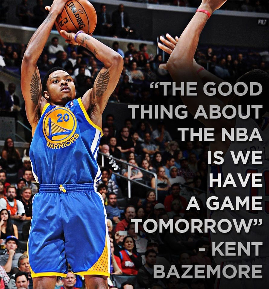 The Good Thing About The Nba Is We Have A Game Tomorrow Kent Bazemore Kent Bazemore Nba Magic Johnson