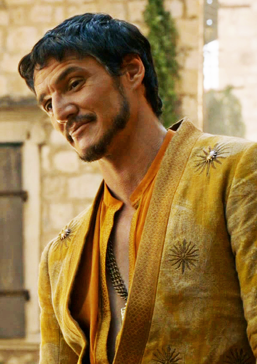 Pedro Pascal As Oberyn Martell Game Of Thrones Season 4 Episode 1 Pedro Pascal Prequel Memes Hollywood Star