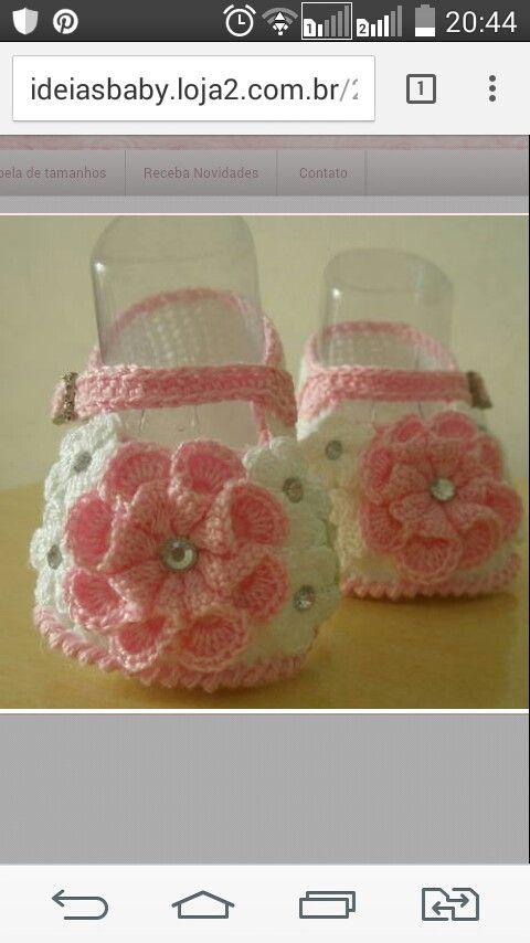 Sapato flor de dalia