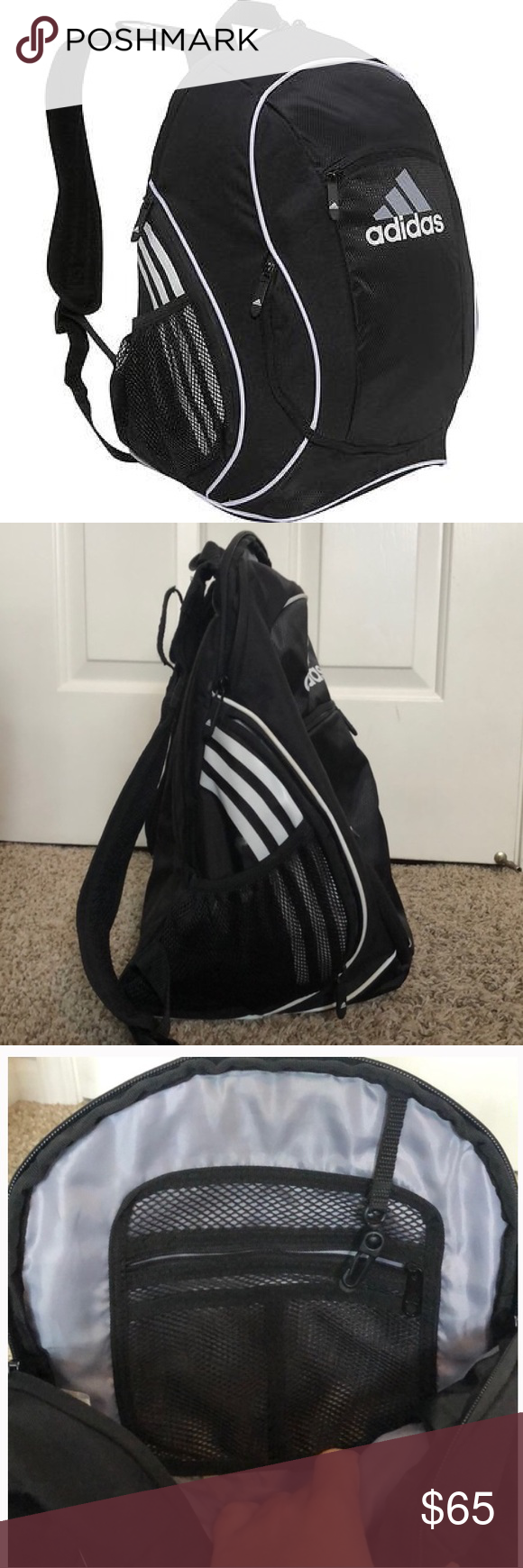 38b4c68f9c84 adidas Estadio Team Backpack II I used this bag when I played on the high  school