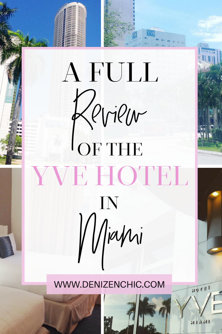 Chic Suite A Full Review Of The Yve Hotel In Miami Best Hotels