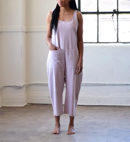 b9b5fdb6632 Ilana Kohn s signature Gary Jumpsuit in a cotton and linen blend. Pair with  a top