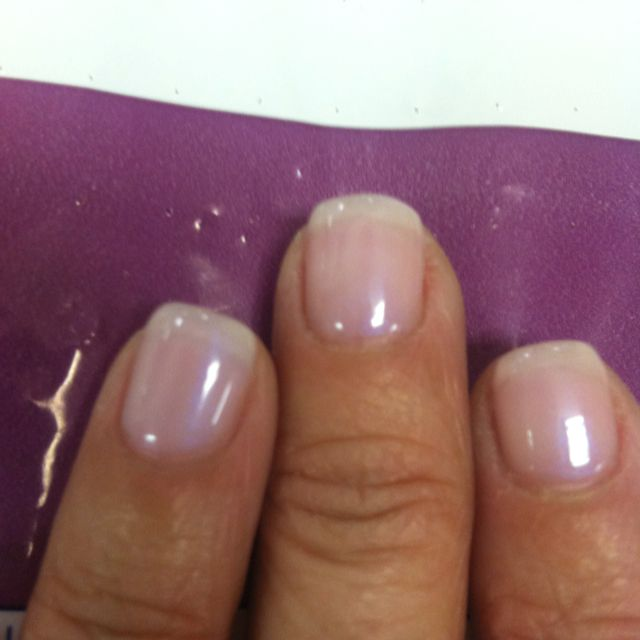 Natural shellac nails! Love them! | nails | Pinterest | Shellac ...
