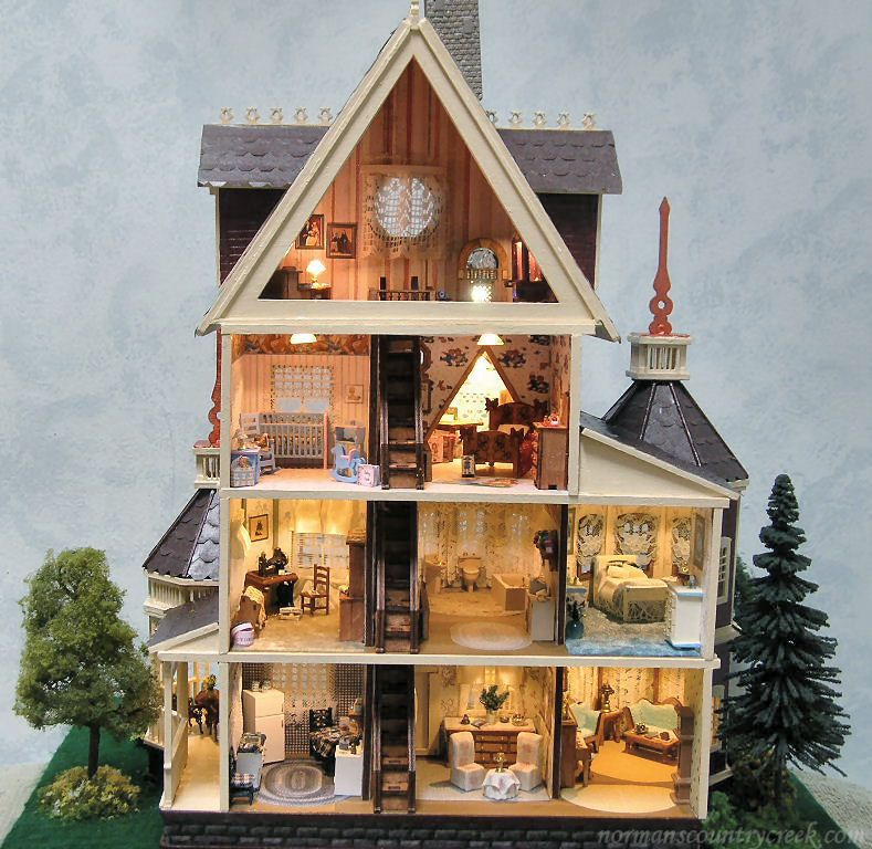 Amazing 1000 Images About Dollhouses Small Scales On Pinterest Cottage Inspirational Interior Design Netriciaus