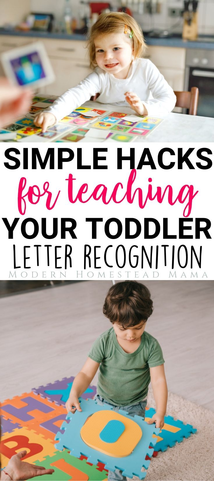 How To Teach Your Toddler The Alphabet (Letter Recognition ...