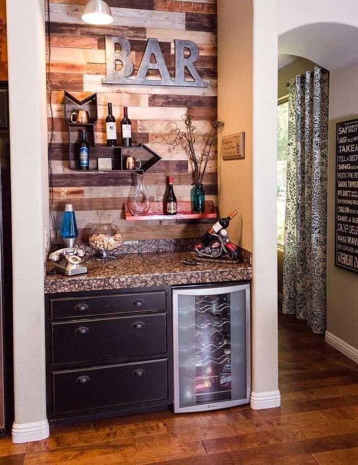 30 id es de meuble bar pour votre int rieur bar meuble bar bar et maison - Bar interieur maison ...