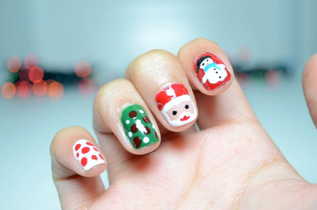 manicuranavidadmasgloeu Christmas Nails NailArt ChristmasNails
