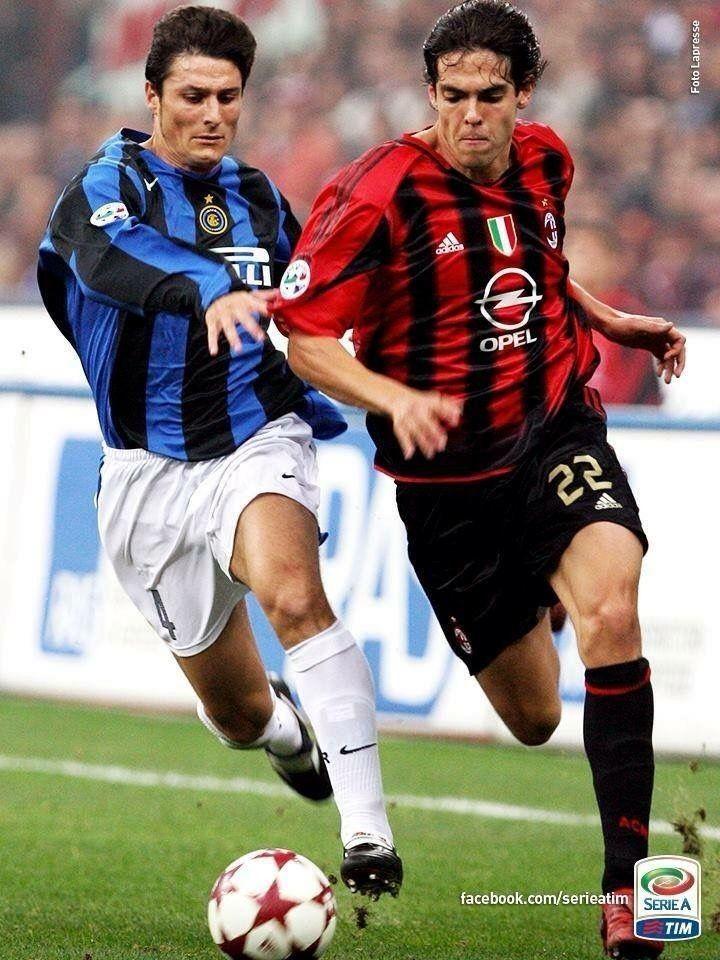 Kaká vs Zanetti Ac Milan vs Inter Milan | Fotos de fútbol ...