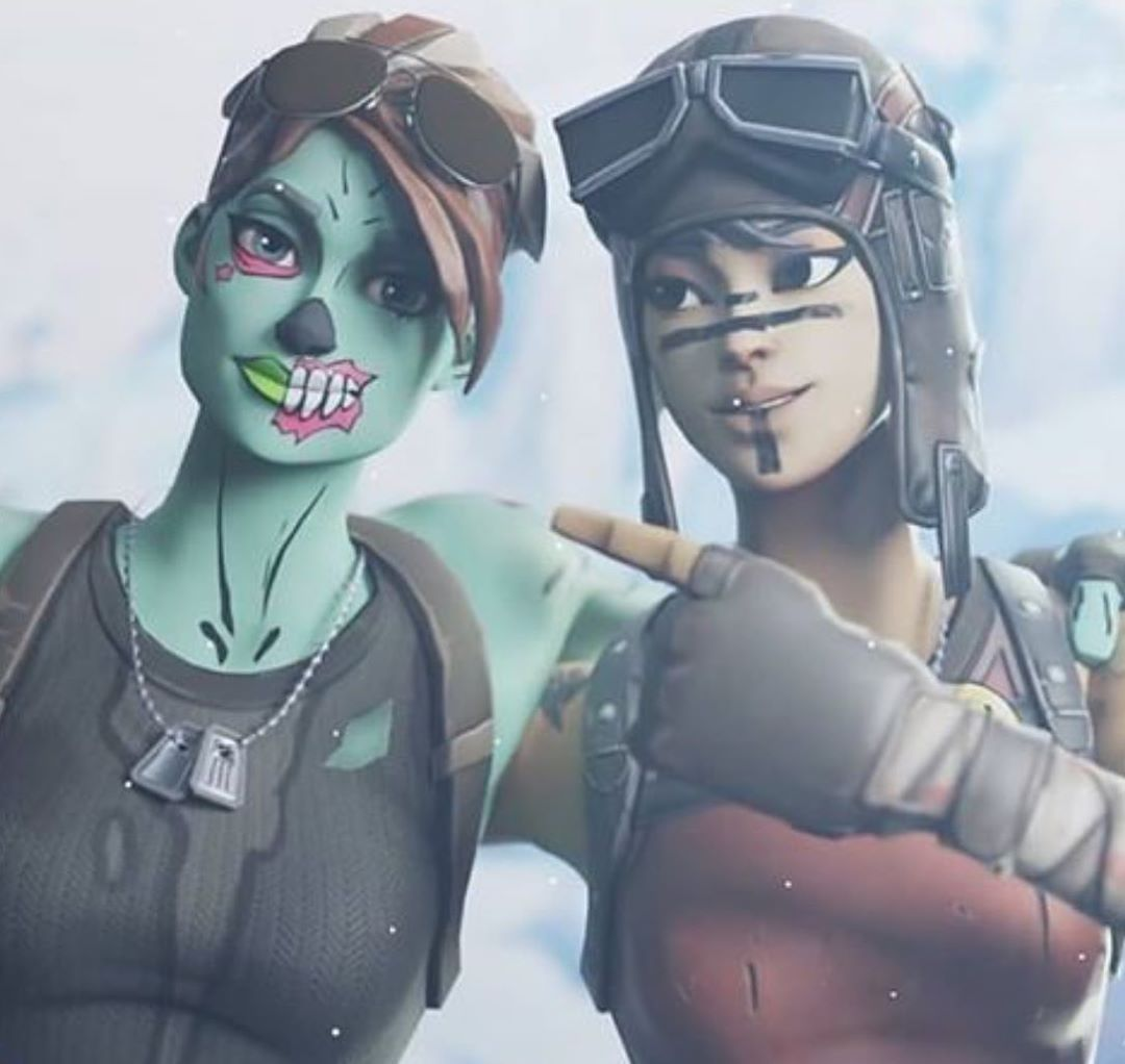 Ghoul Trooper Or Renegade Raider Fortnite Gaming Fortnitewallpaperhd F Ghoul Trooper Best Gaming Wallpapers Gamer Pics