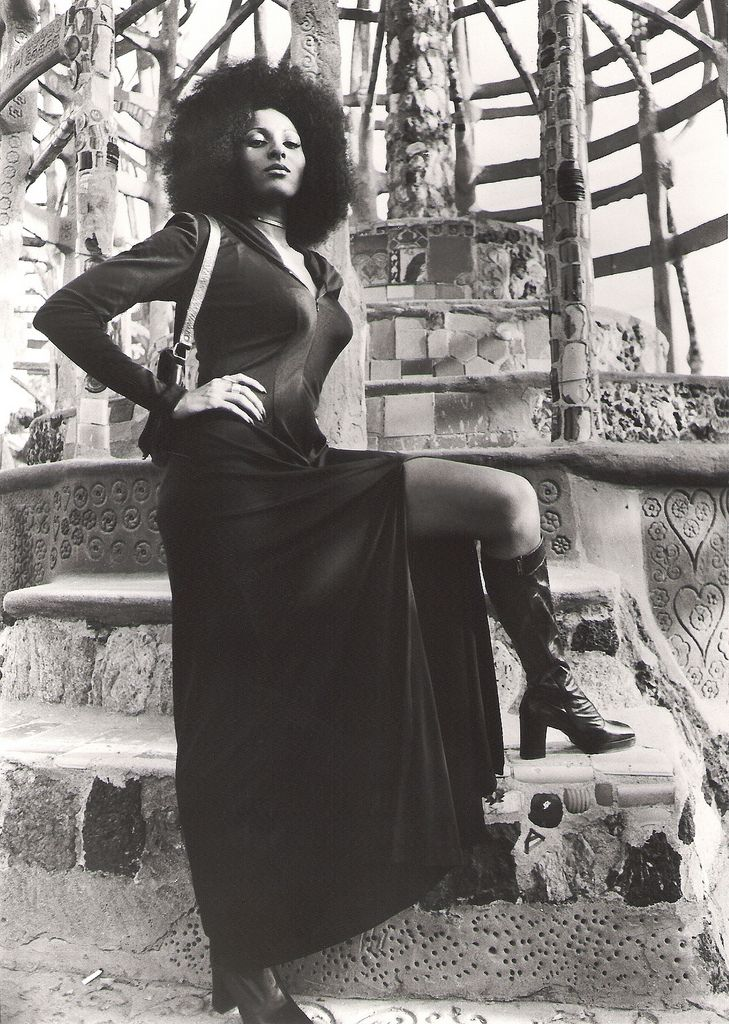 Pam Grier in Hit Man (1972)