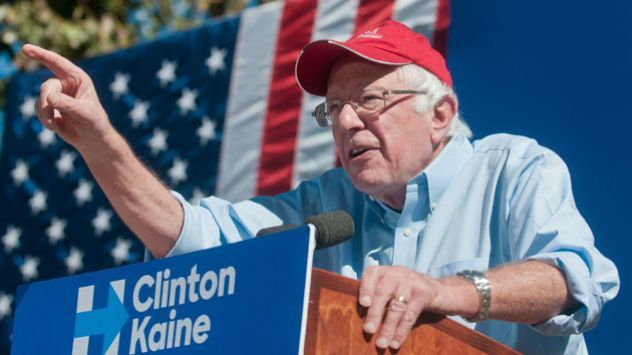 Bernie Sanders is the most popular politician in the country right now. That's why this Republican ad is so bizarre.