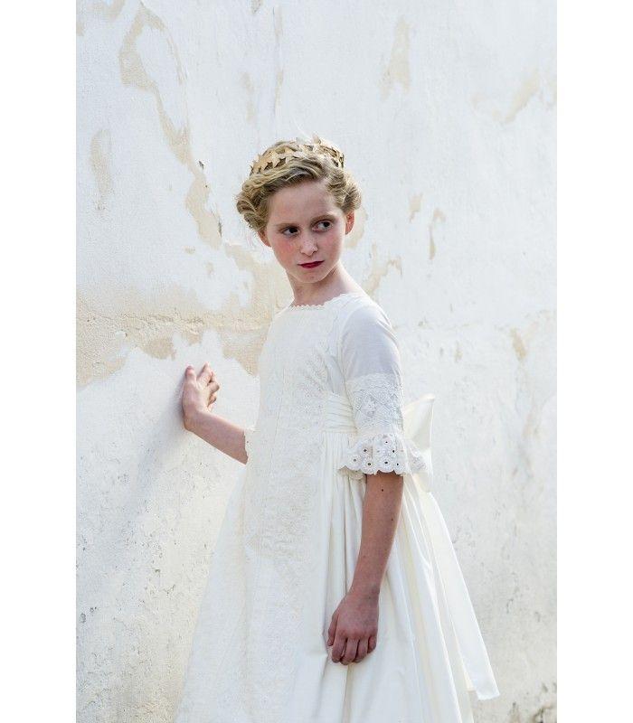 Vestido comunion - Pilar del Toro.net