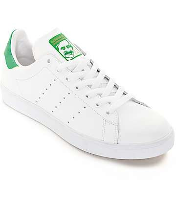 adidas Stan Smith White   Green Shoes Size  9 in womens  c3a609b1f