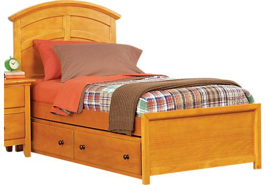 1479 Santa Cruz Pine Full Panel Bed, Furniture Santa Cruz