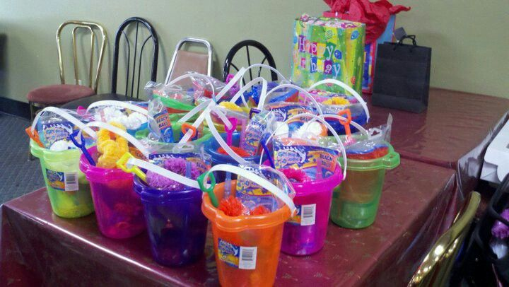 Goody Bags For Beach Theme Luau Party Favors