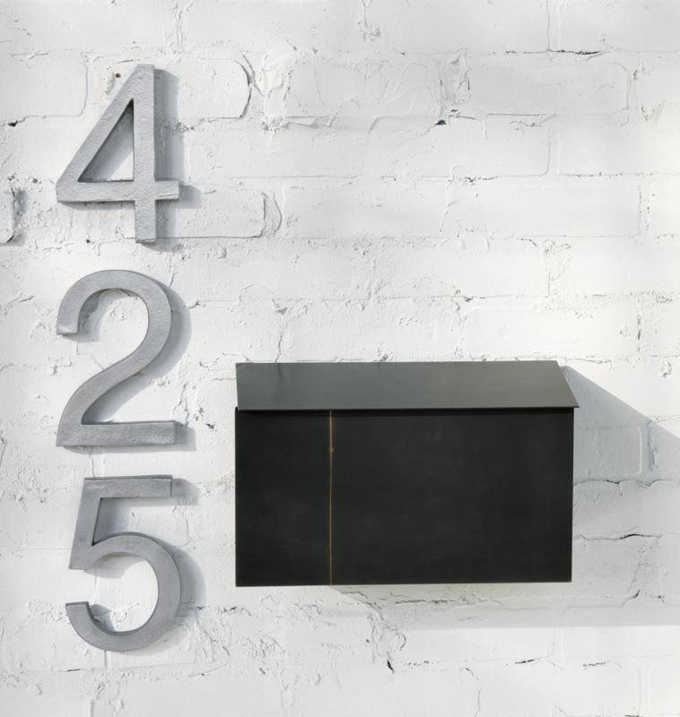 Snail Wall Mounted Mailbox Reviews House Numbers Metal House Numbers Modern Mailbox
