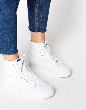 Sneakers | ASOS | White high top vans