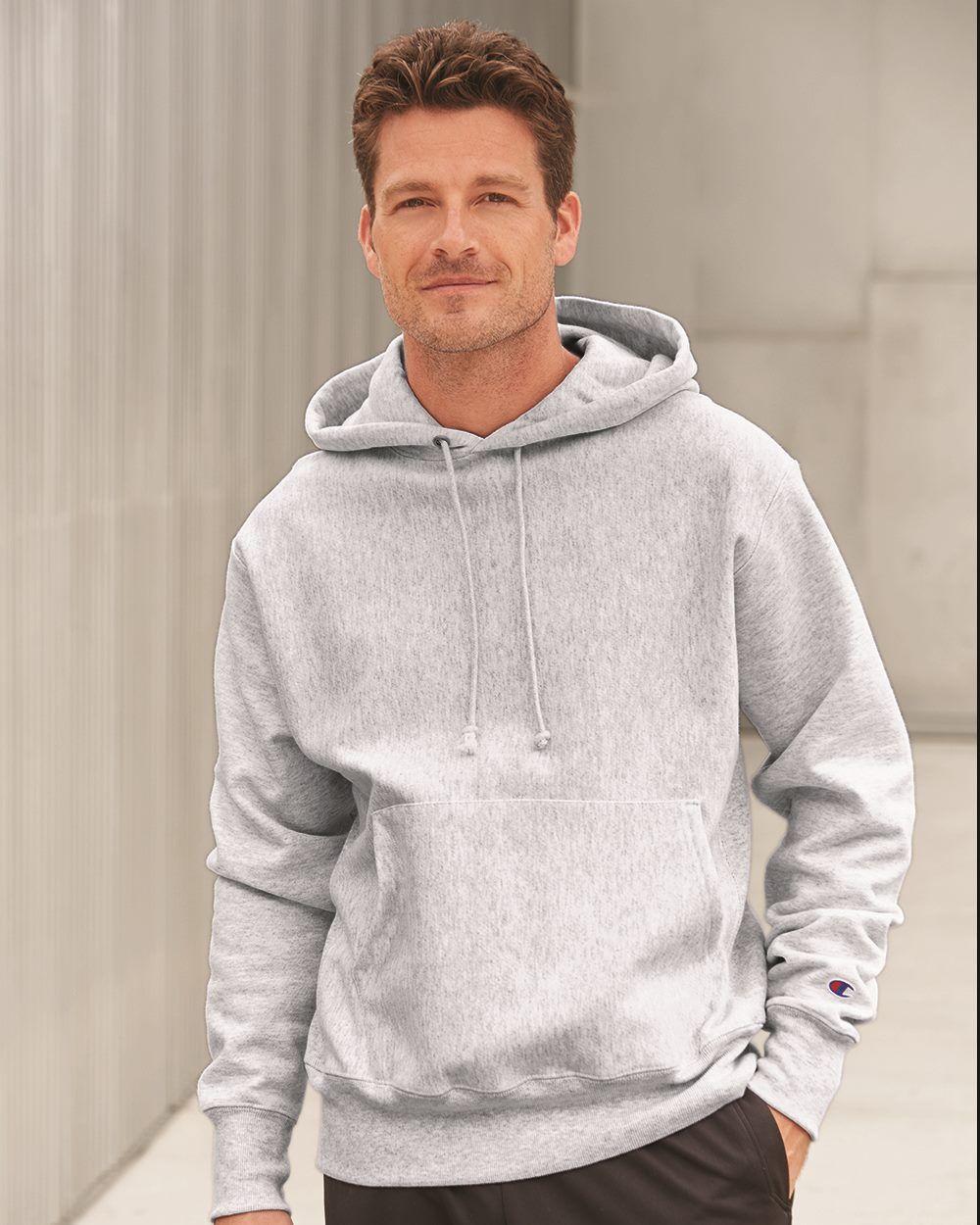 Champion S1051 12 Oz Reverse Weave Fleece Hoodie Champion Clothing Sweatshirts Sweatshirts Hoodie [ 1463 x 975 Pixel ]