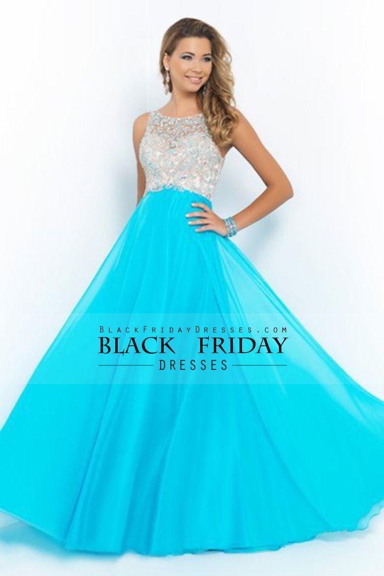 2015 nueva llegada vestidos de baile una línea de barrido cuchara ...