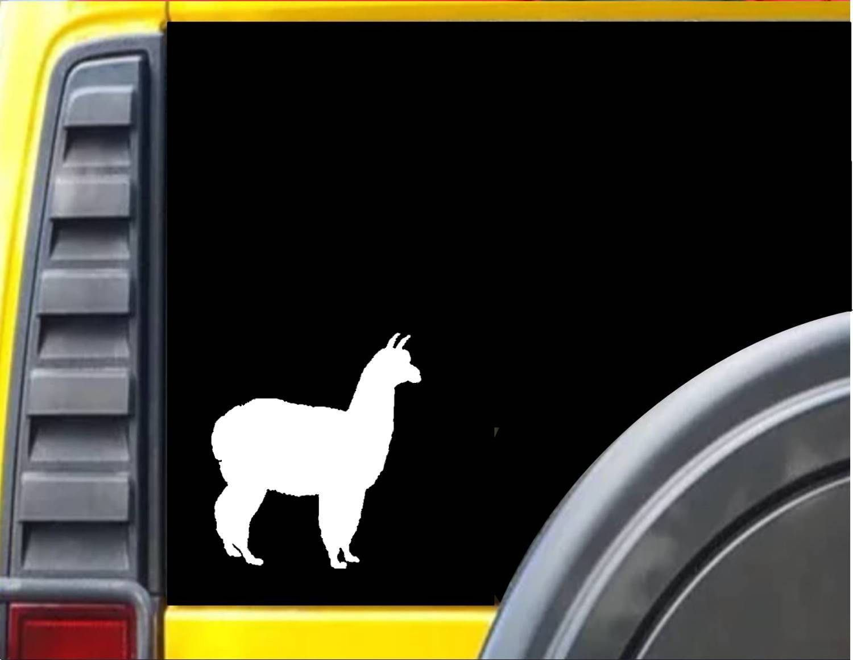 Alpaca decal sticker j548