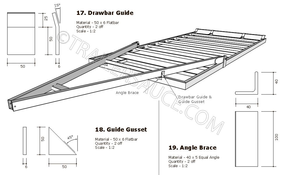 Image result for tilt trailer plans blueprints trailer for Free trailer plans