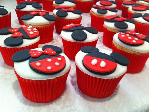 Minnie & Mickey Cupcakes! | Cupcake heaven O ...