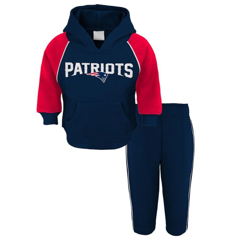 lowest price 3eaab 75f3c New England Patriots Fleece Hoodie & Pants Set - Baby ...