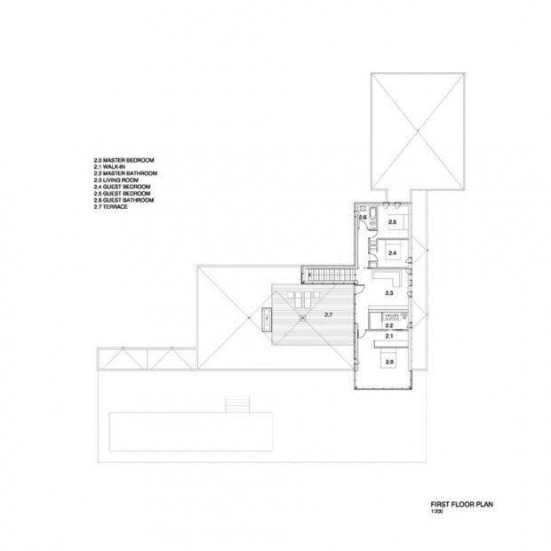 Résidence Rosenberry dans la région des Cantons par Les Architectes