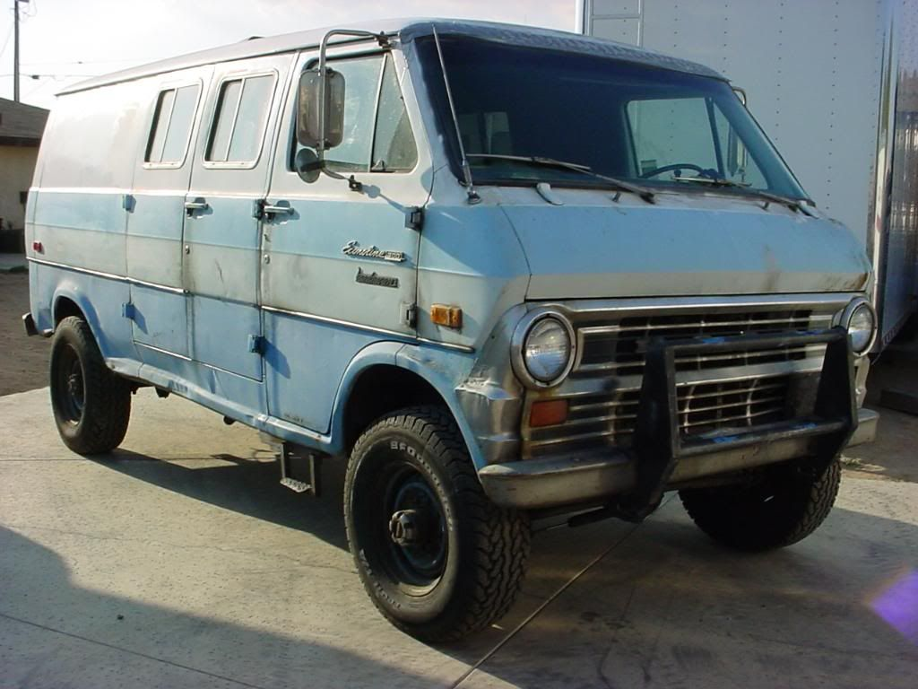 Ford Van Camper Conversions Thread 1969 Ford Van 4wd