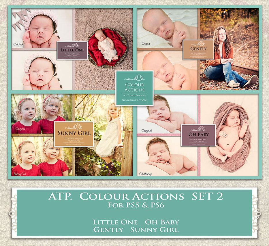 ATP. Color Actions SET 2 by AllThingsPrecious