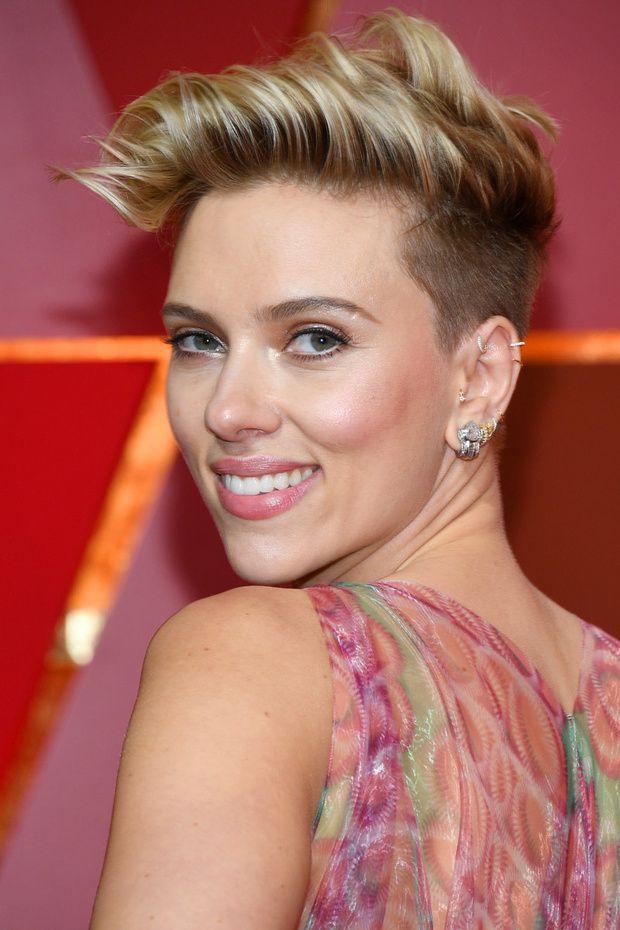 Scarlett Johansson sin maquillaje  Scarlet  Pelo de moda