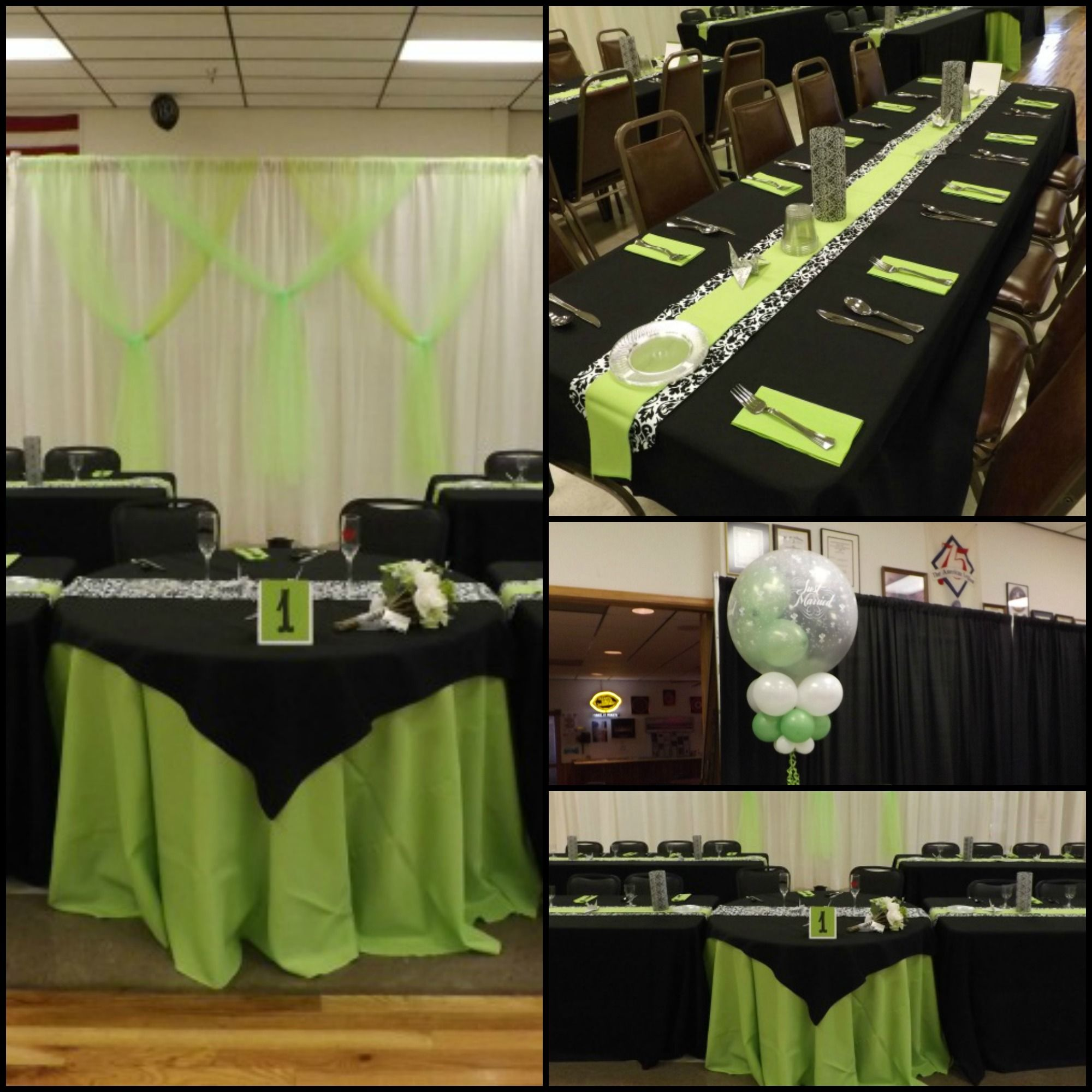 Best Of Green and Black Party Decorations