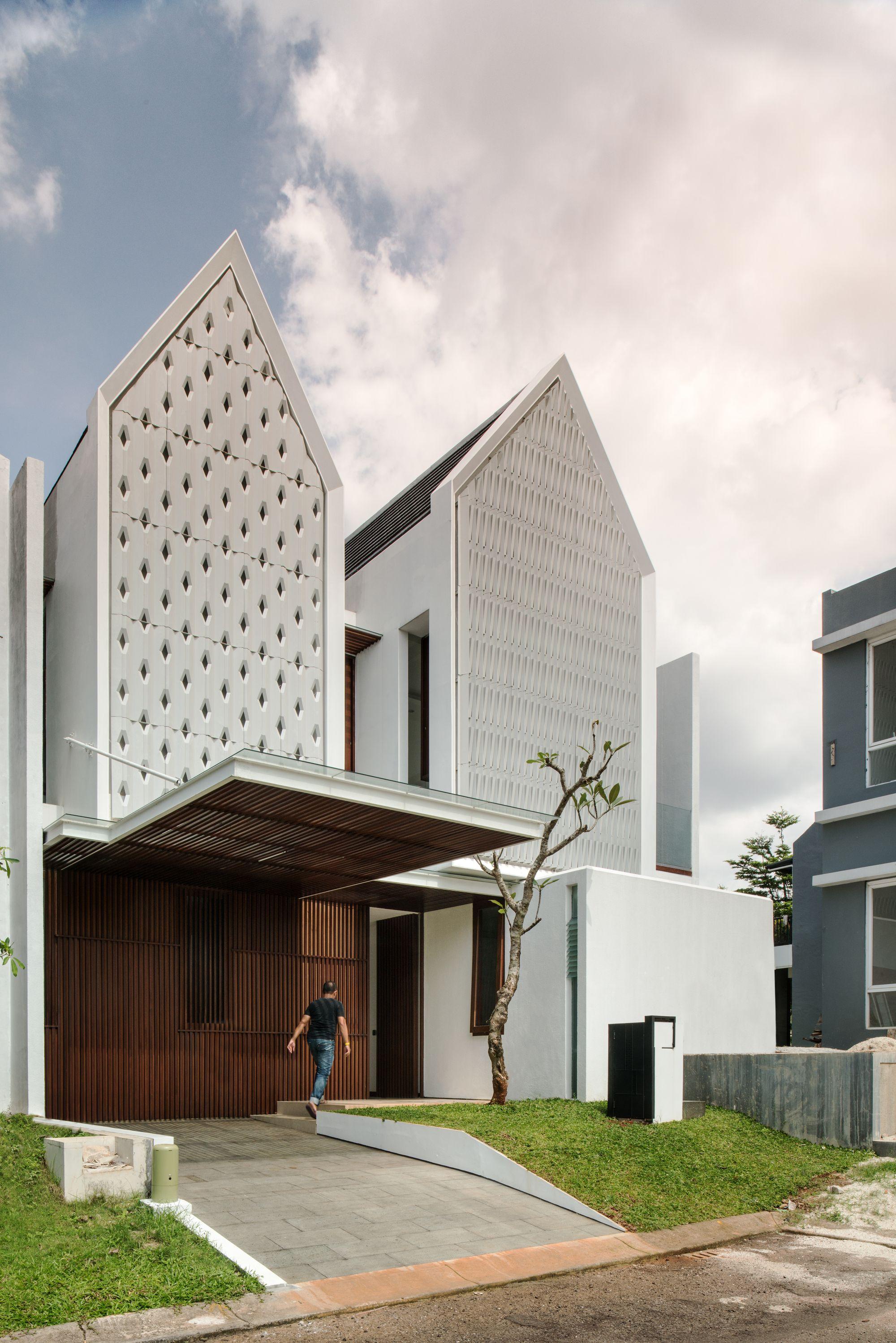 Spouse House Parametr Architecture Facade house Facade ar