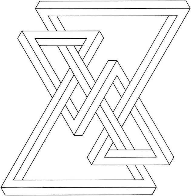 coloring pages geometric shapes - photo#36