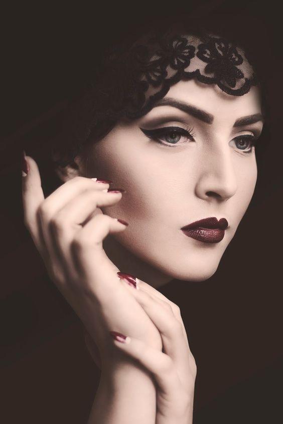 40+ Great Gatsby inspirierte Makeup Styles 33 –  40+ Great Gatsby inspirierte Ma… - nudlyg.sakongonline.club