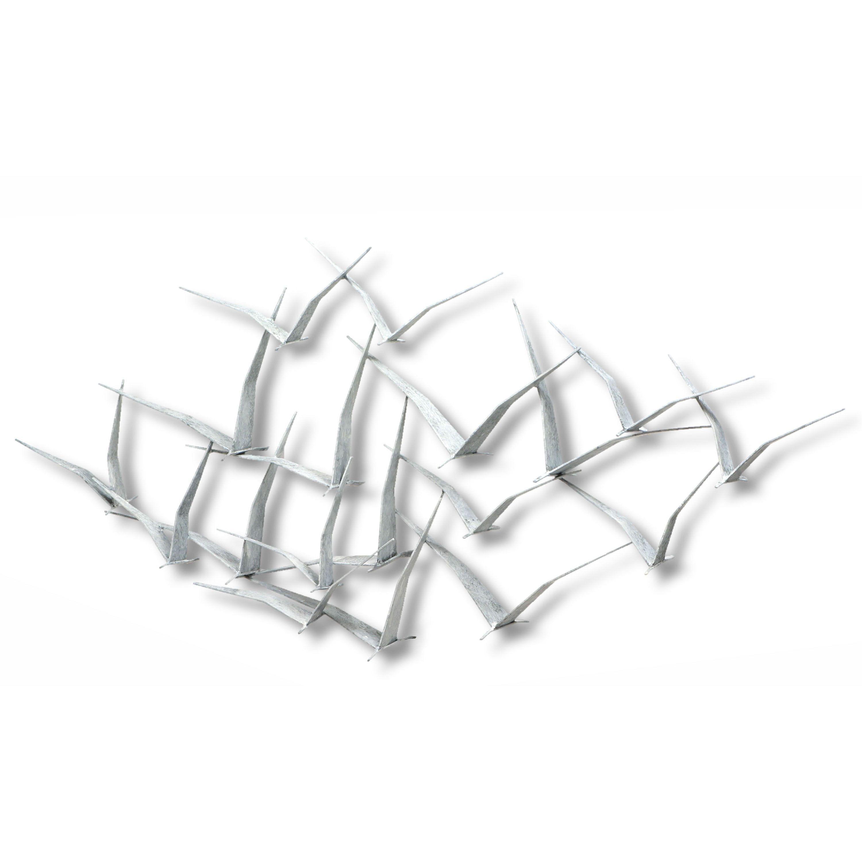 Fox iron werks seagulls wall sculpture products pinterest wall