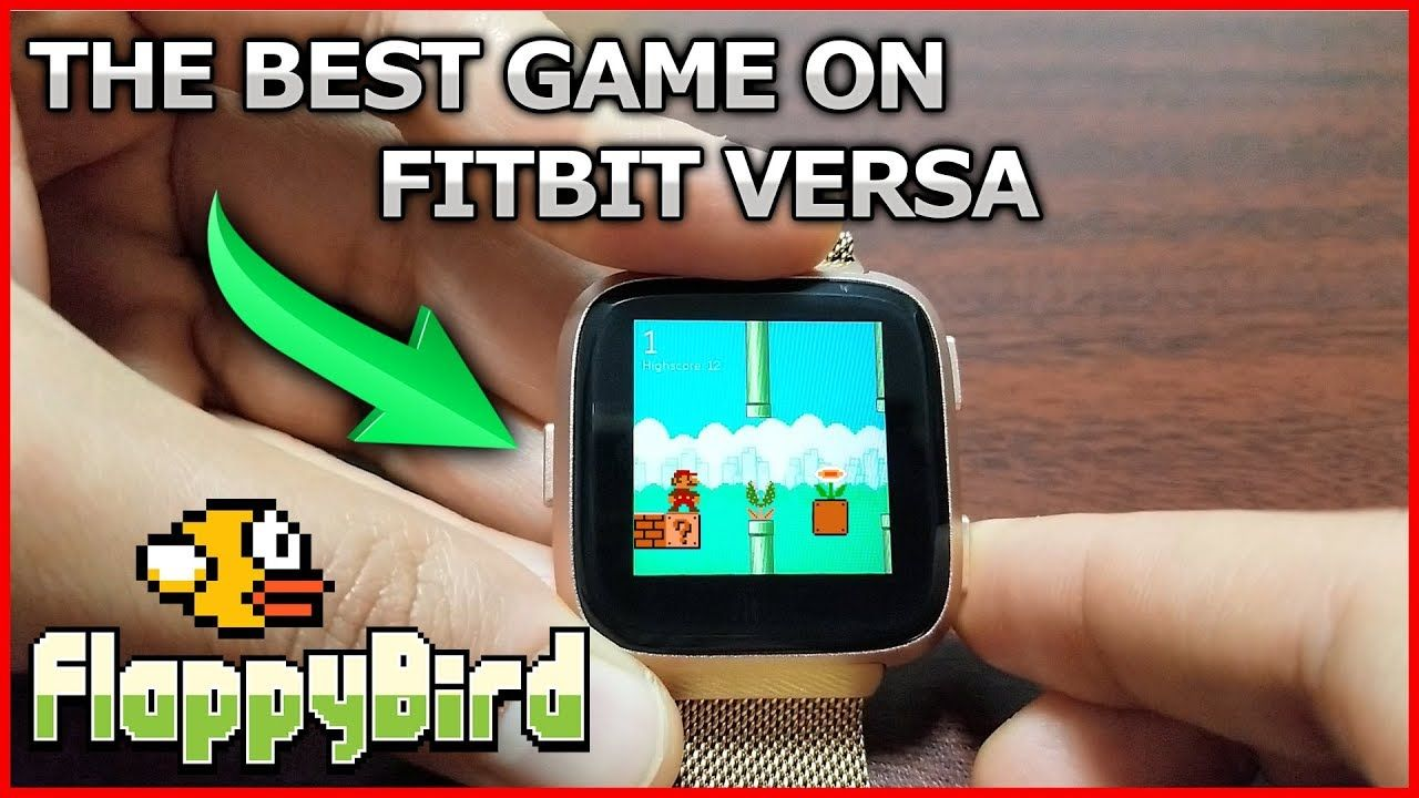 BEST GAME ON FITBIT VERSA | advice | Fitbit, Best games