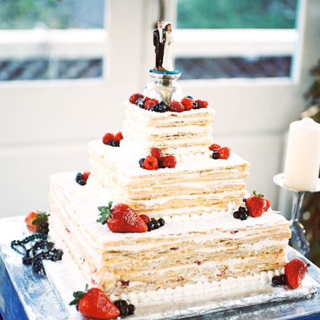 Authentic Italian Wedding Cake Recipe, Italian Cream Cake Old Family ...