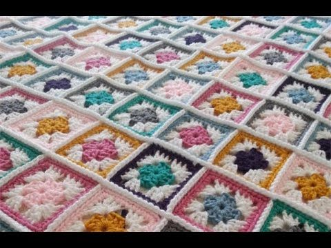 How to Crochet a Blanket Left-Handed: May Crochet-Along Scrapghan