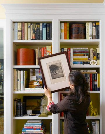 Decorate Your Bookcase | House beautiful magazine living ...
