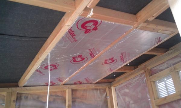 How To Insulate A Shed 1001 Gardens Insulating A Shed Insulated Garden Room Diy Storage Shed