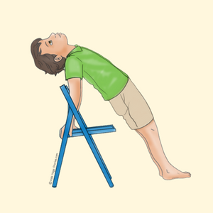 40 kidfriendly chair yoga poses  yoga for kids chair
