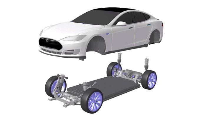 """Tesla Model S bei der Verlässlichkeit nur """"durchschnittlich"""""""