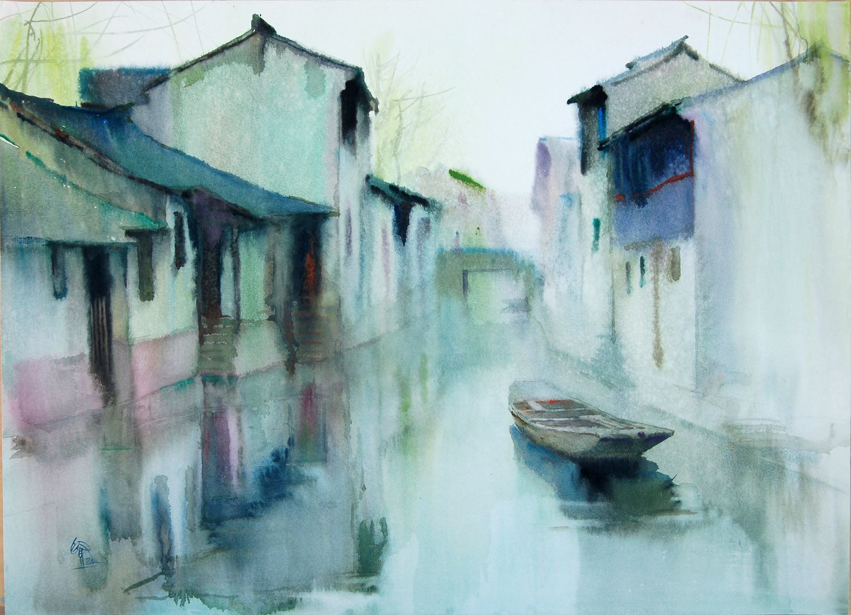 Watercolor art society of houston - Watercolor Paintings Chinese Watercolor Art Society Houston To Host Major International Exhibit